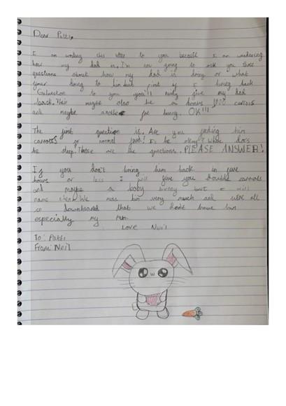 Elizabeth letter 3.7