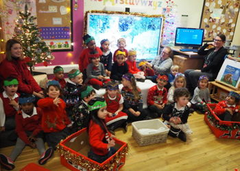 Nursery Christmas songs!
