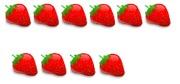 Strawberries 6 + 4