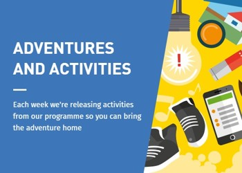 Guiding activities to do at home!