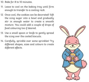 Easter biscuit recipe 2