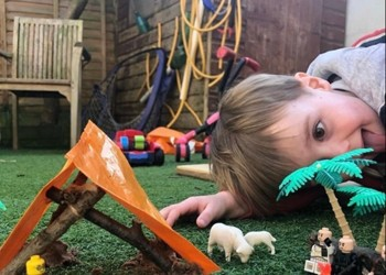 Learning through play at home