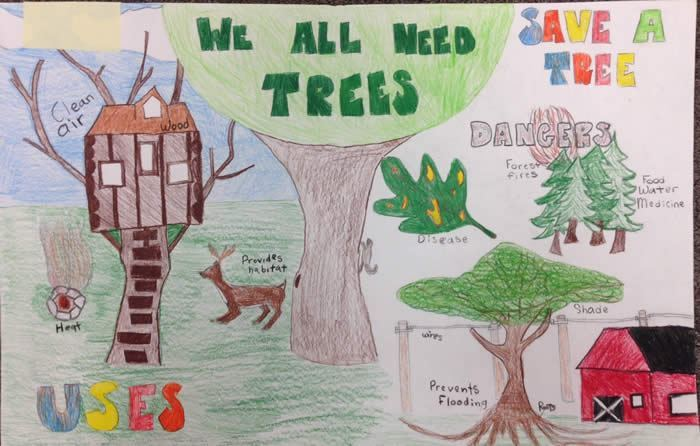 We all need trees poster 3