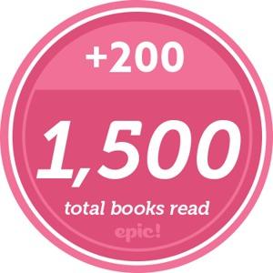 Readerpillar badge 1500