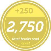 Readerpillar badge 2750