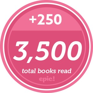 Readerpillar Badge 3500