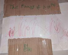Family of Hearts Eve Reception Art